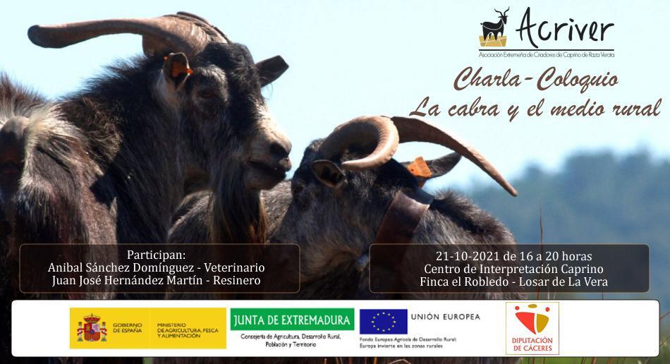 Charla Coloqio – La Cabra y el Medio Rural